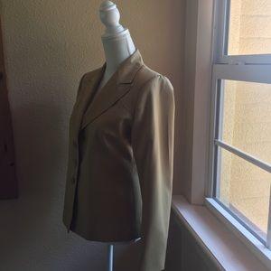 Yves Saint Laurent Jackets & Coats - VTG YVES SAINT LAURENT  Neutral Jacket Women's M